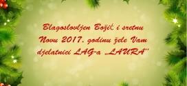SRETAN BOŽIĆ I USPJEŠNU NOVU 2017. GODINU ŽELI VAM LAG LAURA